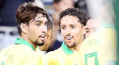 Brasil cierra el año con goleada
