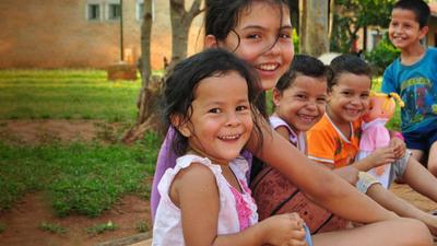 El 40% de la población paraguaya tiene menos de 18 años
