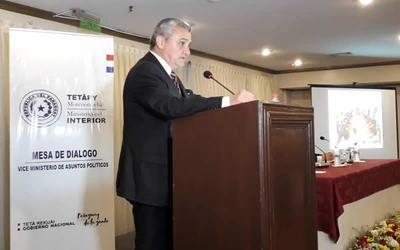 Villamayor pedirá a Fiscalía investigar hechos donde le nombran