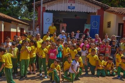 Con títeres promueven los derechos de los niños y niñas en escuelas de Central