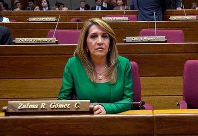 """Zulma Gómez considera una """"fábula"""" caso Messer y no acompañaría pedido de desafuero contra Cartes"""