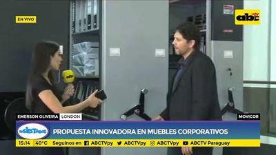 Movicor: Propuesta innovadora en muebles corporativos