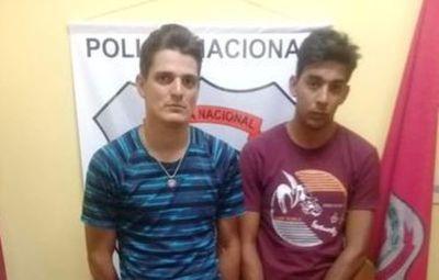 Detienen a dos presuntos microtraficantes en Ayolas