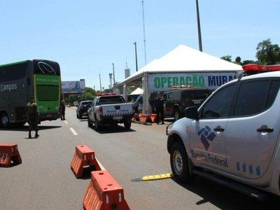Brasil realiza operaciones militares  en la frontera con el Paraguay