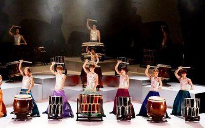 Tambores japoneses llenarán hoy el escenario en el BCP