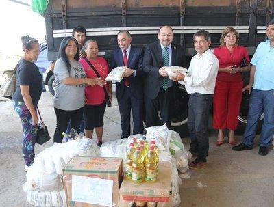 Aduanas donó 12 toneladas de alimentos a entidades de beneficencia