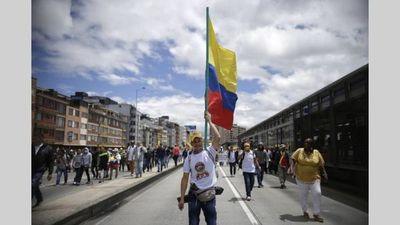 Se inicia la huelga y jornada de protesta en Colombia