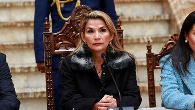 Áñez envió proyecto de ley para convocar a nuevas elecciones en Bolivia