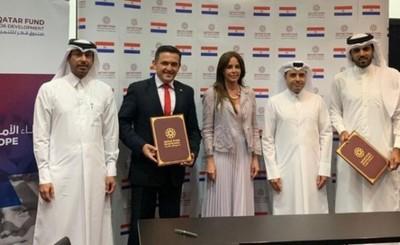 Qatar dona US$ 10 millones para proyectos del MEC