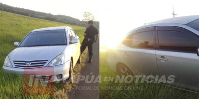 AHORA: RECUPERAN UNO DE LOS AUTOMÓVILES HURTADOS EN CNEL. BOGADO