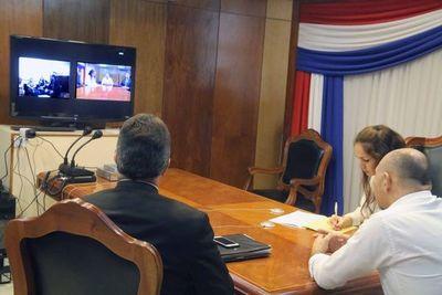 Mediación internacional por videoconferencia