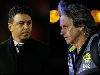 Gallardo contra Jorge Jesus, un duelo de maestros del fútbol de posesión