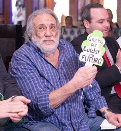Senado condecorará a Humberto Rubin por su liderazgo al frente de A todo Pulmón