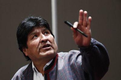 """Morales dije tener """"derecho"""" a ser candidato, pero renunciaría por la paz en Bolivia"""