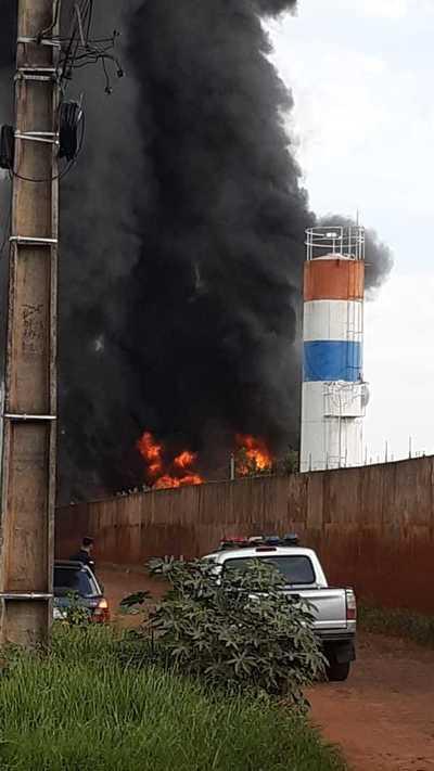 El helicóptero que cayó no dejó víctimas fatales
