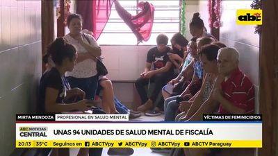 Salud mental y atención de víctimas de feminicidios