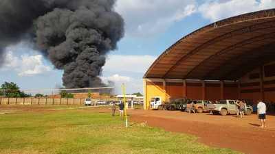 Ninguno de los tripulantes de helicóptero siniestrado corre peligro, informa SENAD