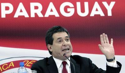 La Fiscalía paraguaya no tiene orden de prisión contra el expresidente Cartes