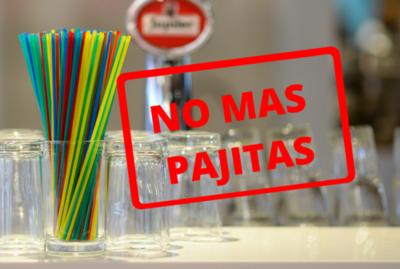 ¡Desde hoy! Queda totalmente prohibida la entrega de pajitas en Argentina