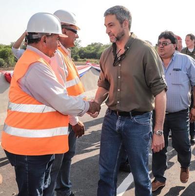Gobierno habilita nuevo tramo asfaltado de la bioceánica en Alto Paraguay