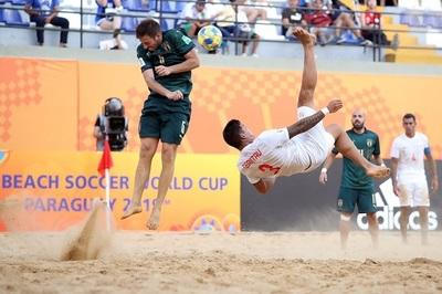 Tres campeones de fútbol de playa se encuentran este viernes en el Mundial
