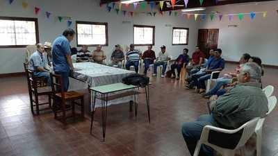 Productores de San Pedro planifican cooperación para cosechas y hacer frente a condiciones climáticas