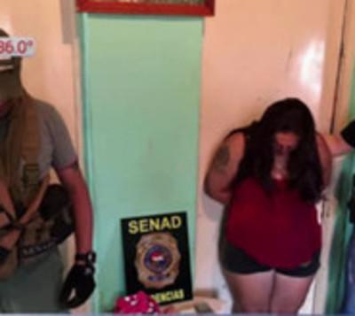 Detienen a mujer con 800 dosis de crack