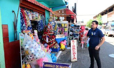 Preparan feria de descuentos en mercado de CDE para fiestas de fin de año