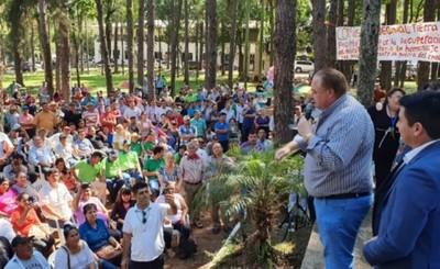 """""""Recuperar las tierras malhabidas y castigo para los bandidos"""""""