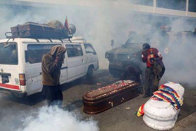 """Morales, denunciado por """"terrorismo"""""""
