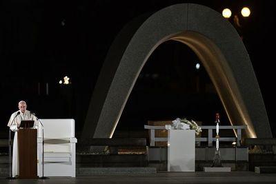 "El Papa en Hiroshima: ""Usar la energía atómica para la guerra es un crimen"""