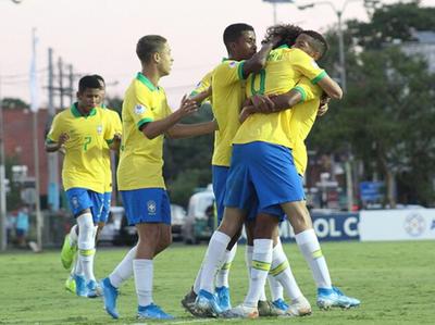 Brasil arranca con una goleada el Sudamericano Sub-15