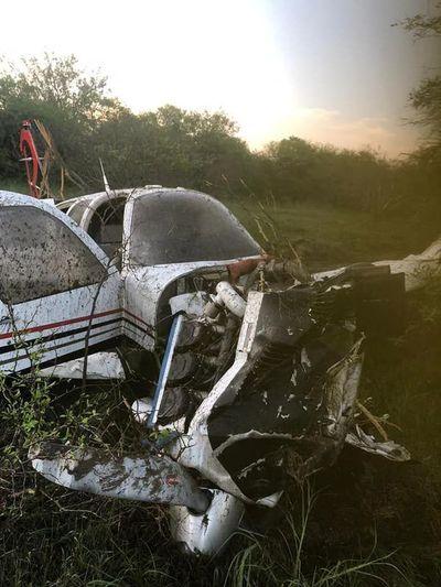 Aparatoso accidente aéreo sin heridos en el Chaco