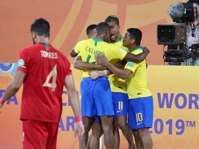 Resumen del partido: Brasil 9-7 Portugal