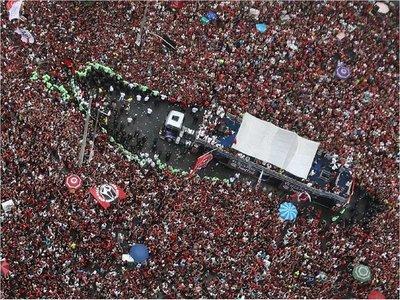 Flamengo, copado y con festejo doble