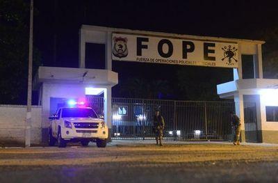 Supuestos narcos detenidos en Amambay ya están presos en Asunción