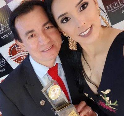 """Esposa de Cabañas ingresó en """"selecto grupo"""" de la Itaipú"""