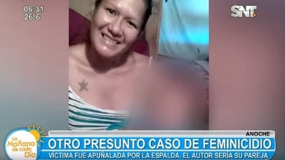 Mujer es asesinada de una puñalada en Asunción
