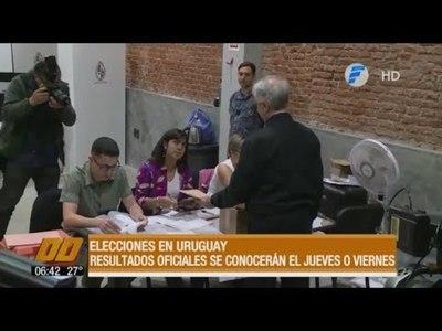 Reñidas elecciones en Uruguay