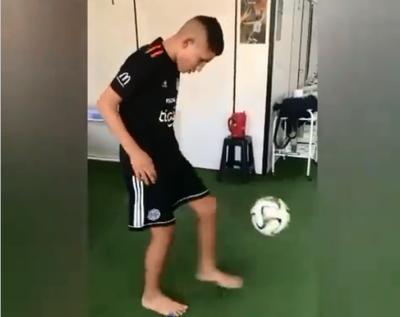 ¡Recuperando fuerzas! El juvenil de Olimpia vuelve a entrar en ritmo con el balón