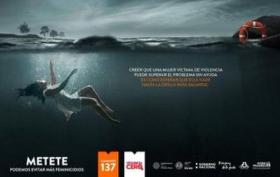 """Presentan campaña """"Metete"""" para eliminación de la violencia contra la mujer"""