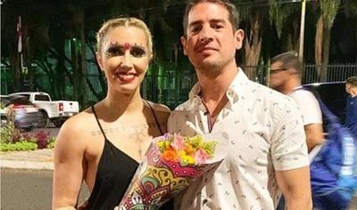 Carmiña Masi compartió el video de la caída que sufrió su novio
