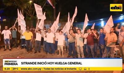 Huelga en la ANDE: Funcionarios exigen aumento de salario