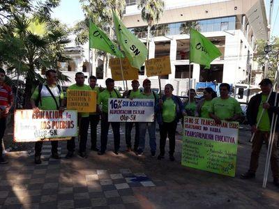 Docentes marcharán mañana en Asunción
