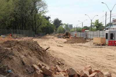 Obras en el Corredor Vial Botánico proseguirá sin interrupciones