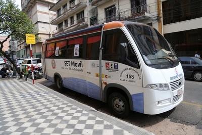 PAC Móvil brinda sus servicios gratuitos en Alto Paraná, Itapúa y Caaguazú
