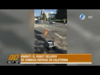 Kiwibot, el robot delivery