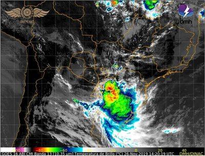 Aviso por tormentas cesa en el sur, pero se extiende más al este