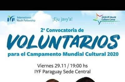 HOY / Invitan al 7° Campamento Mundial Cultural Paraguay 2020