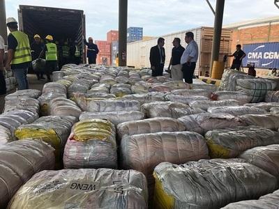 Incautan contrabando por valor de USD 10 millones